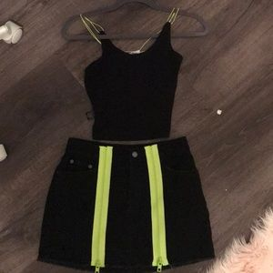 LF black set